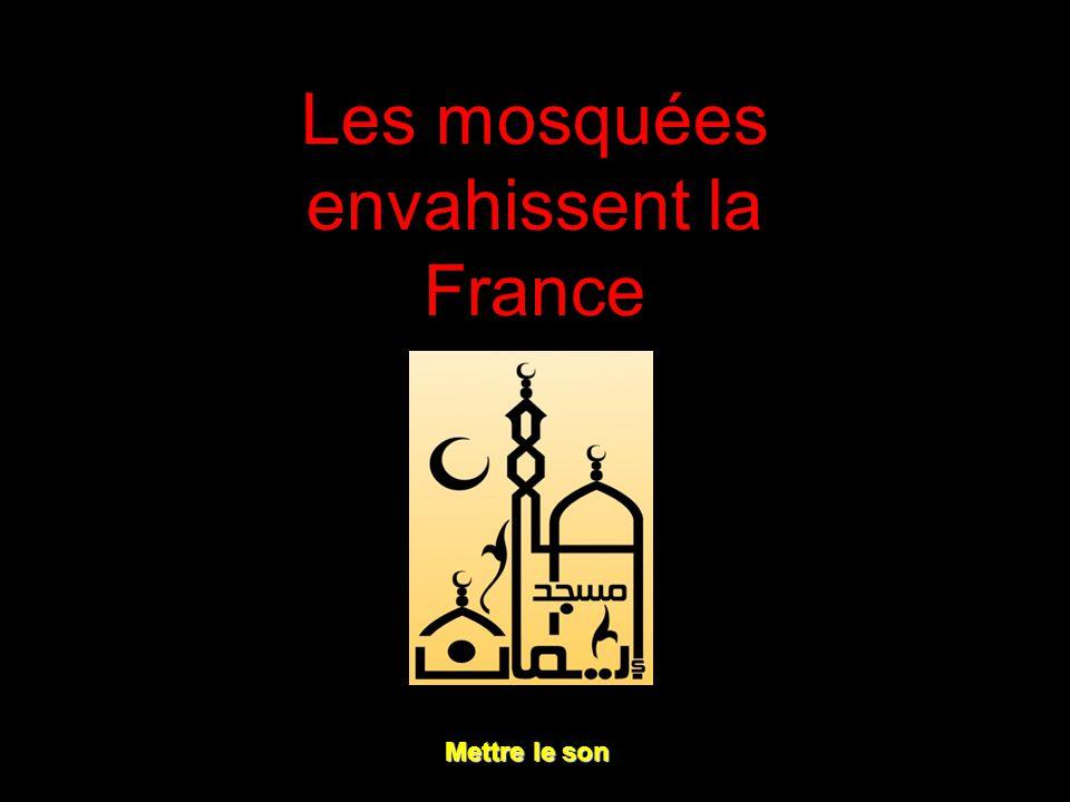 Les mosquées envahissent la France Mettre le son