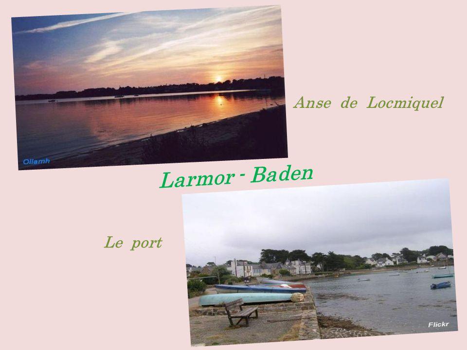 Anse de Locmiquel Larmor - Baden Le port
