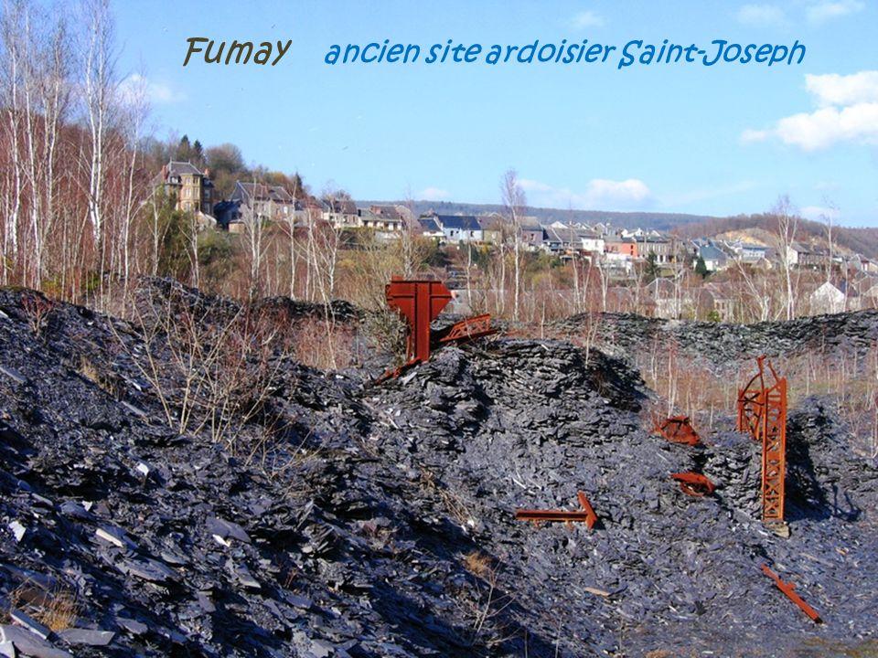 Fumay ancien site ardoisier Saint-Joseph