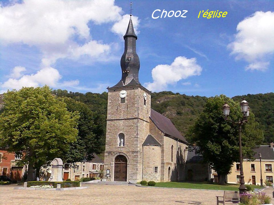 Chooz l'église