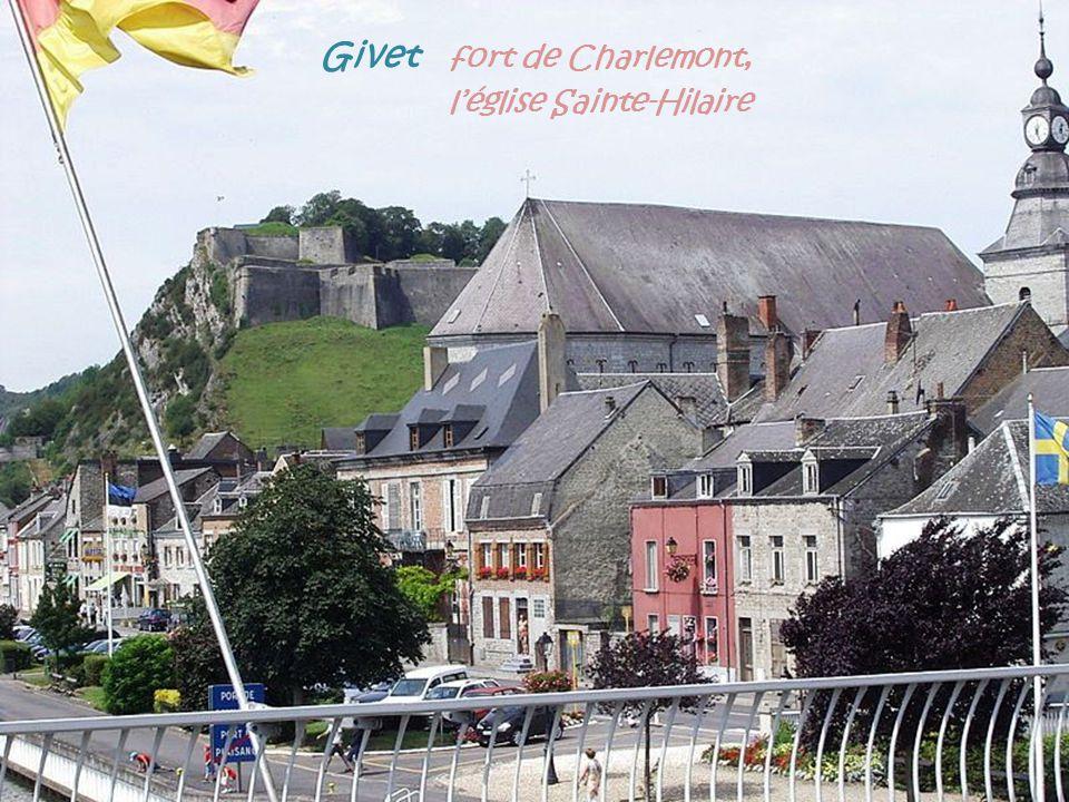 Givet fort de Charlemont, . l'église Sainte-Hilaire