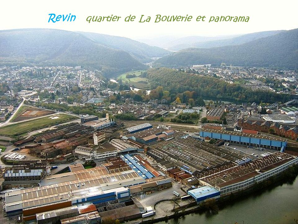 Revin quartier de La Bouverie et panorama