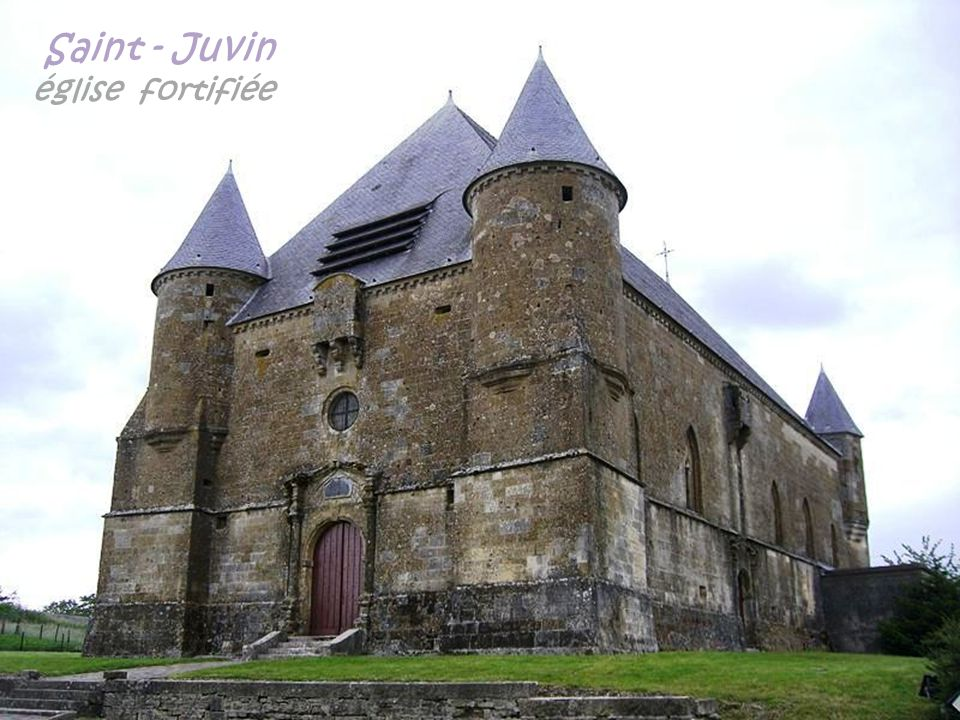 Saint - Juvin église fortifiée