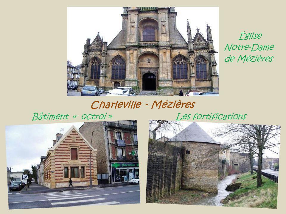 Charleville - Mézières Bâtiment « octroi » Les fortifications