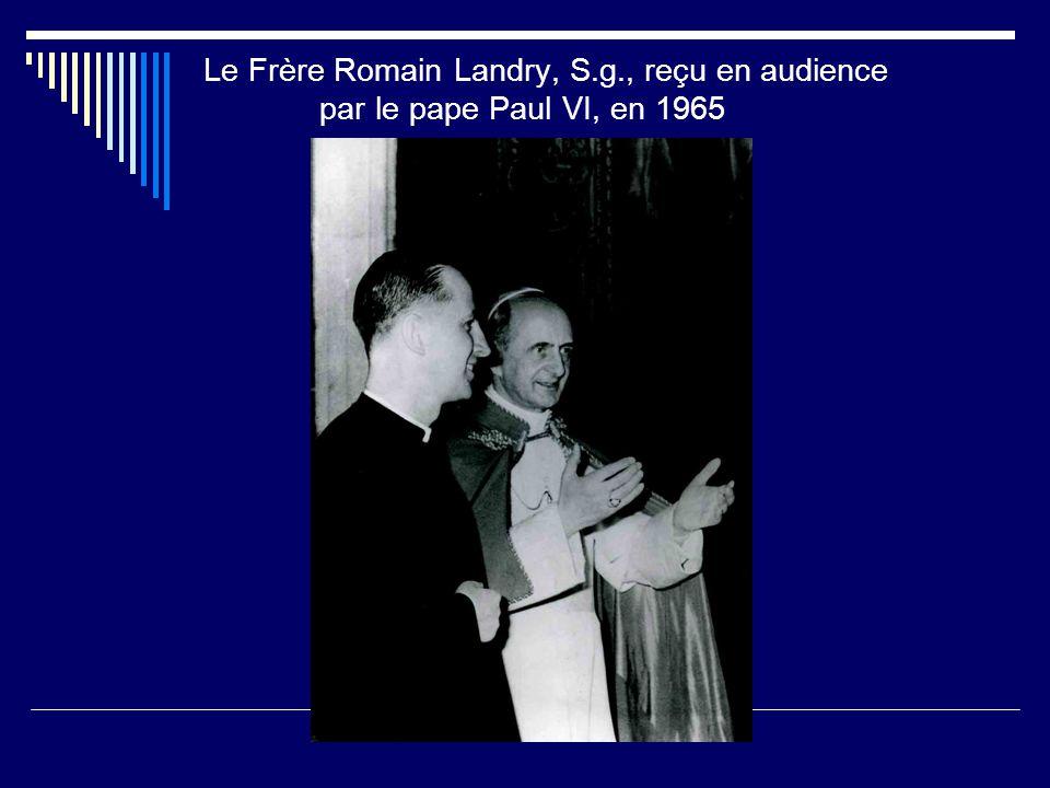 Le Frère Romain Landry, S. g