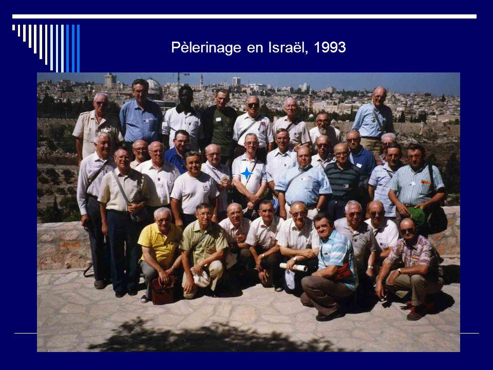 Pèlerinage en Israël, 1993