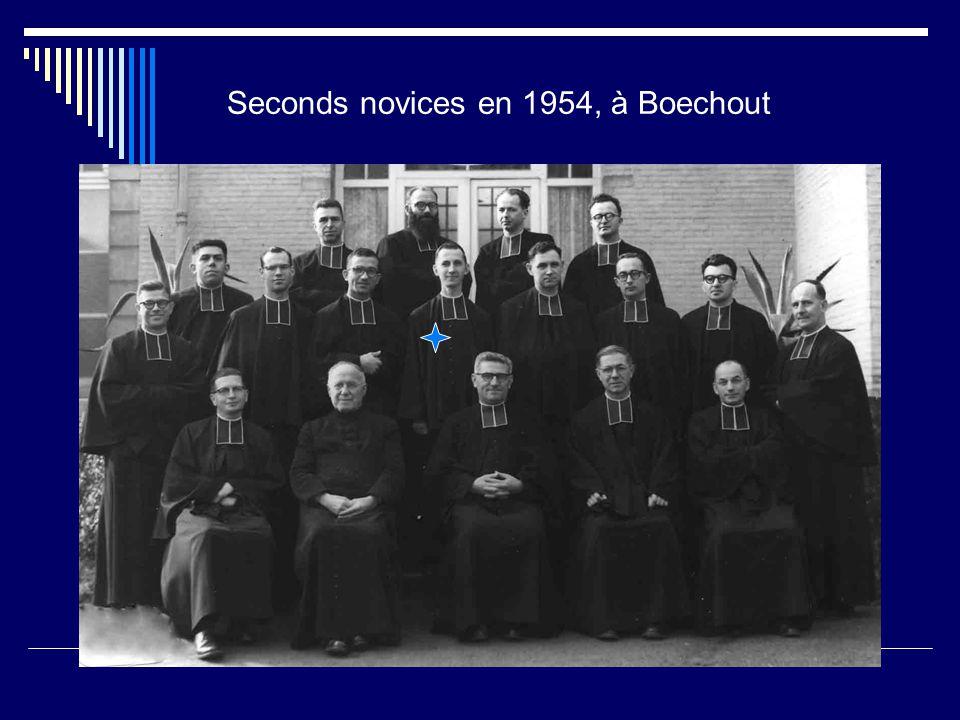 Seconds novices en 1954, à Boechout