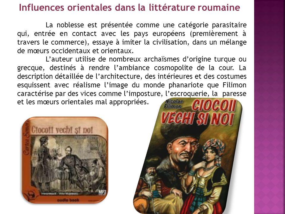 Influences orientales dans la littérature roumaine