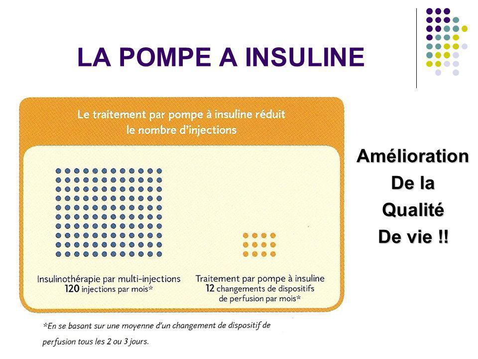LA POMPE A INSULINE Amélioration De la Qualité De vie !!