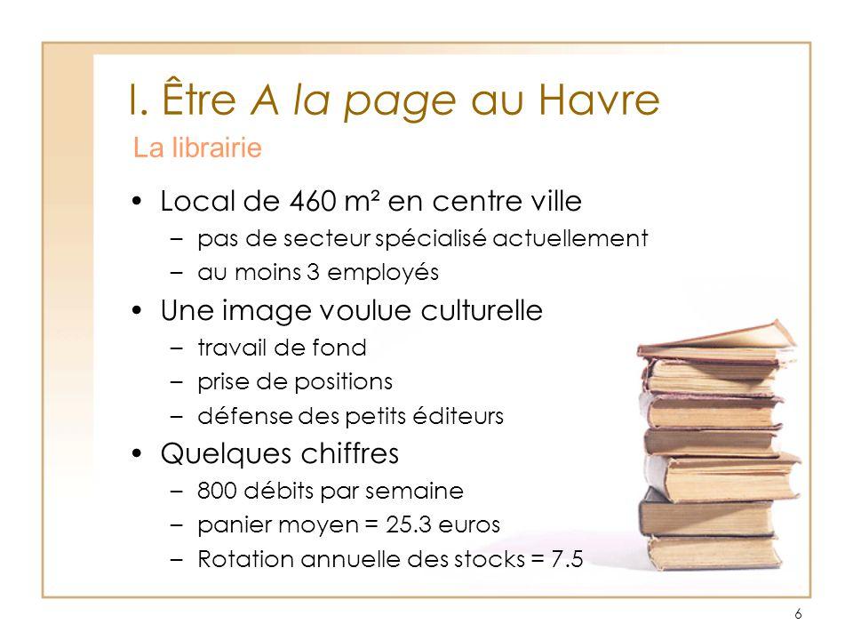 I. Être A la page au Havre La librairie