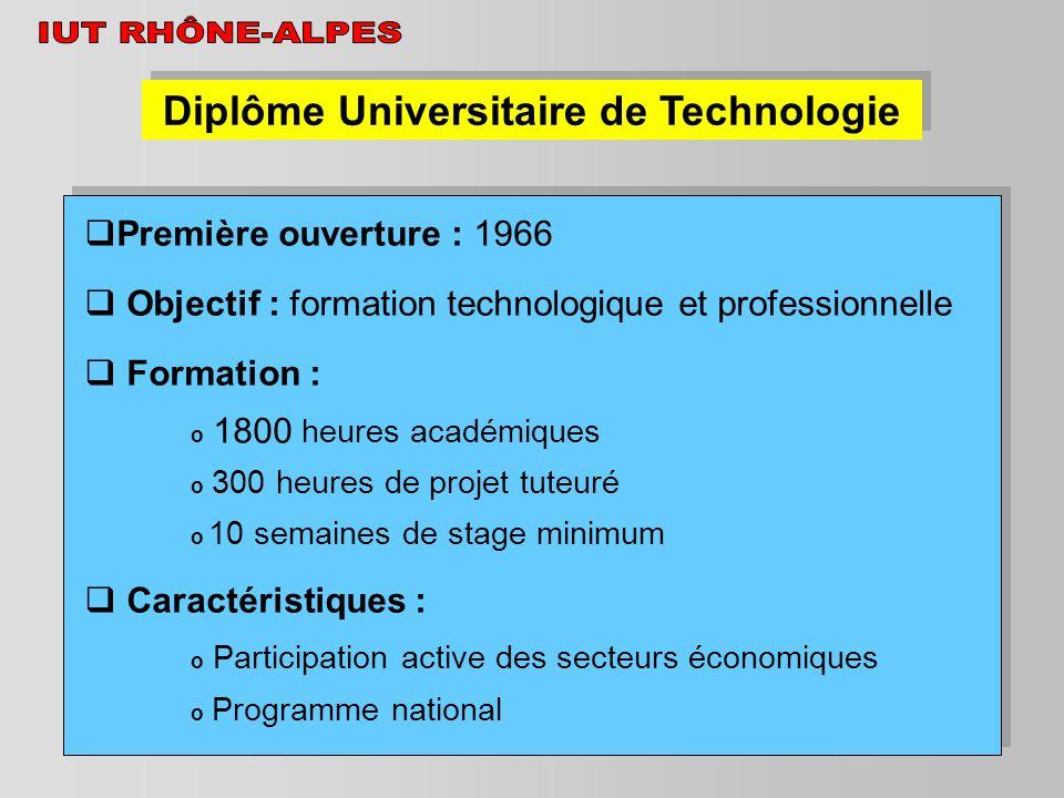 Diplôme Universitaire de Technologie