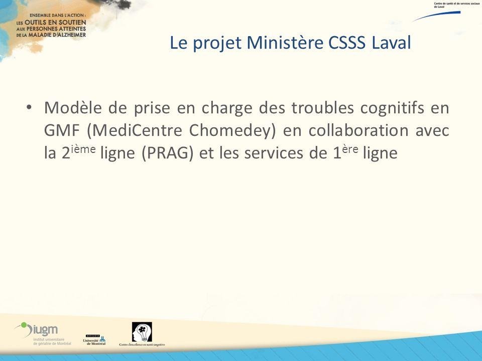 Le projet Ministère CSSS Laval