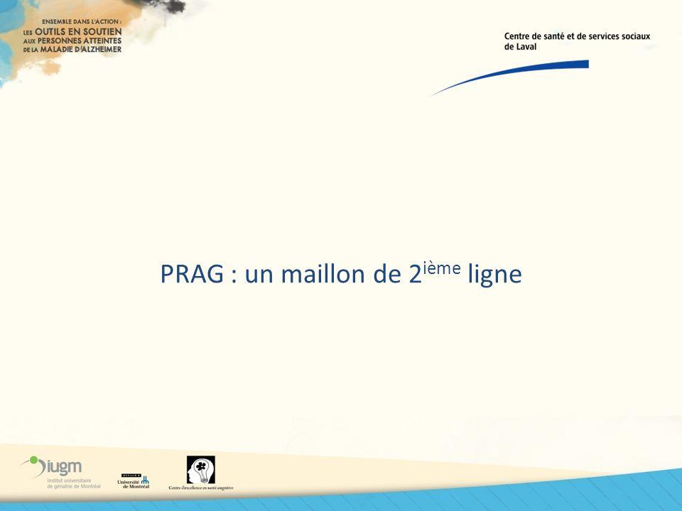 PRAG : un maillon de 2ième ligne
