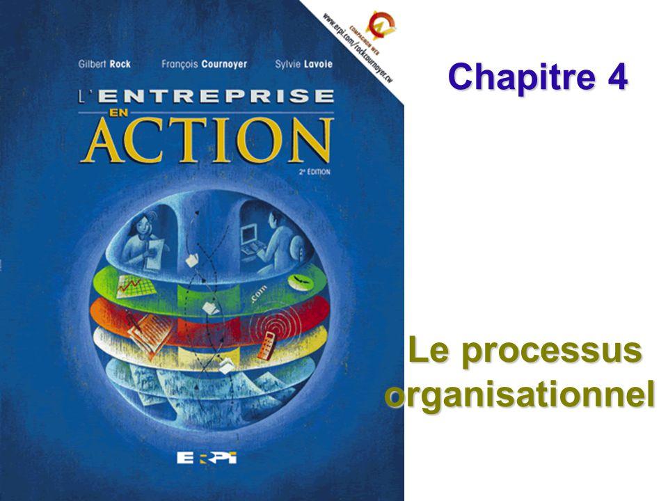 Le processus organisationnel