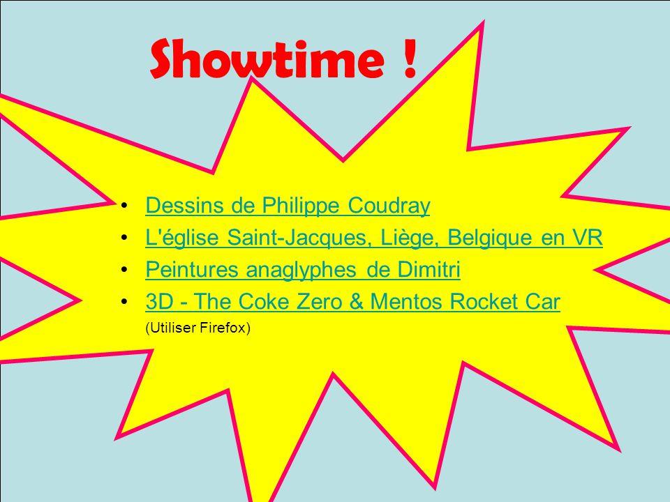 Showtime ! Dessins de Philippe Coudray