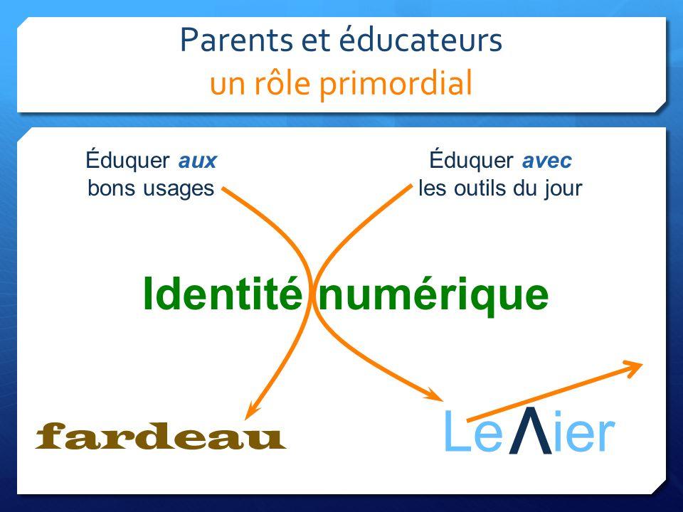 Parents et éducateurs un rôle primordial