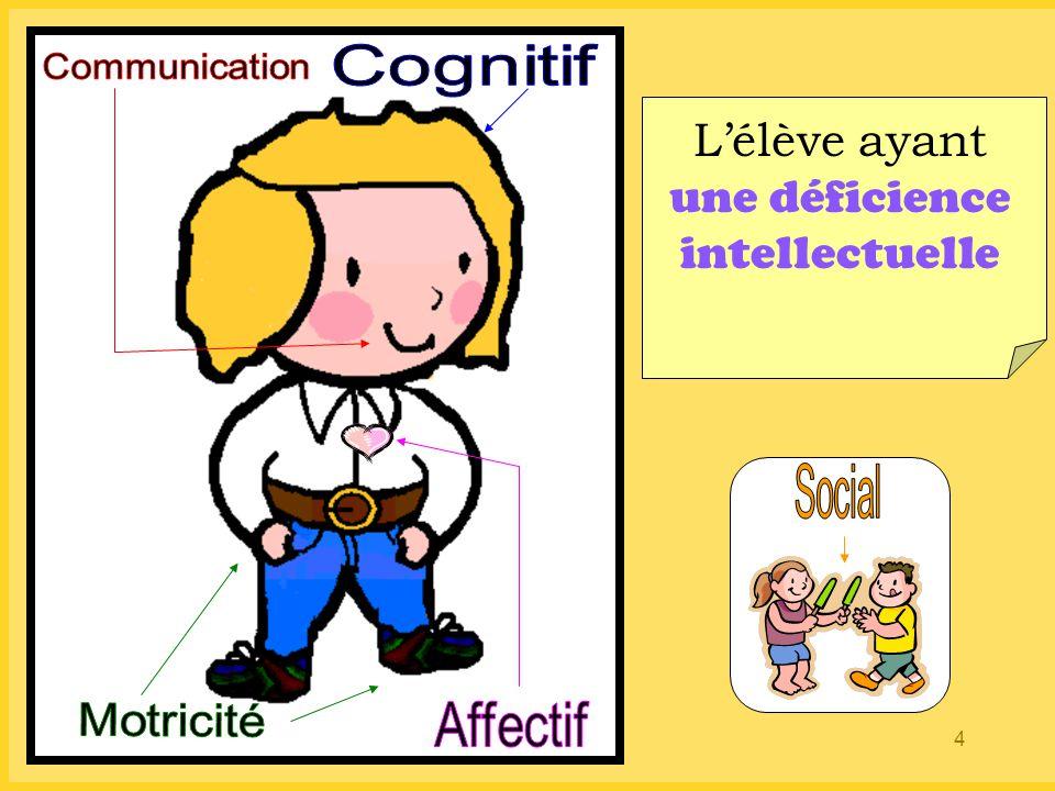 L'élève ayant une déficience intellectuelle