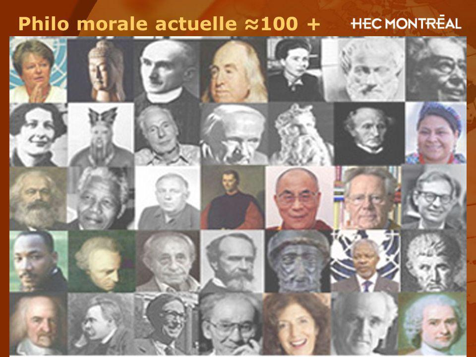 Philo morale actuelle ≈100 +