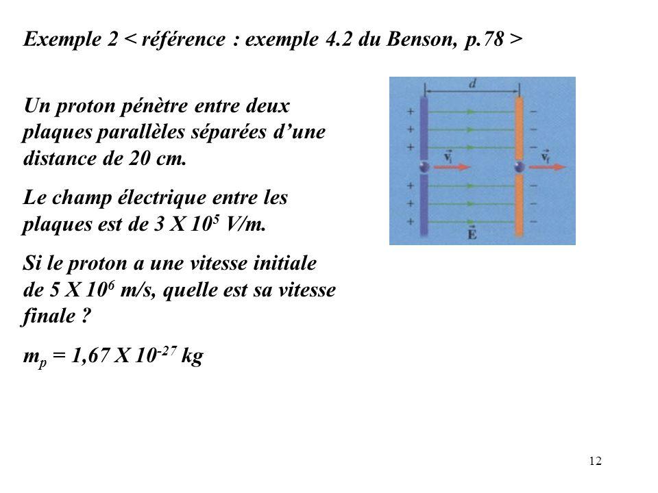 Exemple 2 < référence : exemple 4.2 du Benson, p.78 >