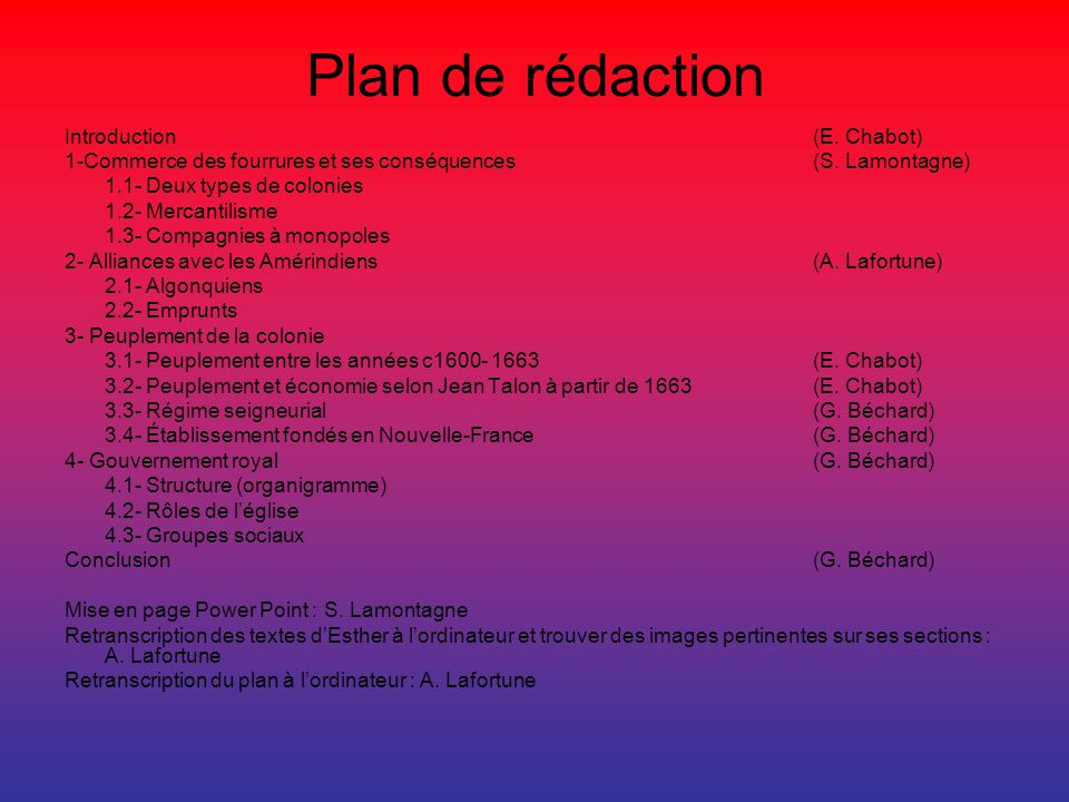 Plan de rédaction Introduction (E. Chabot)