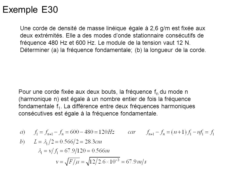 Exemple E30