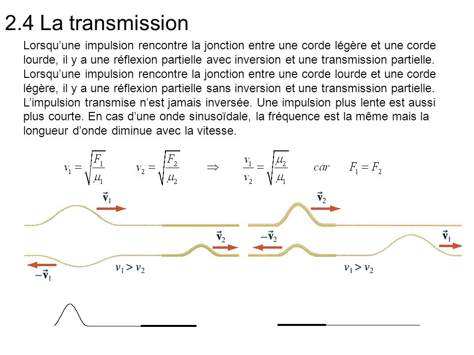 2.4 La transmission