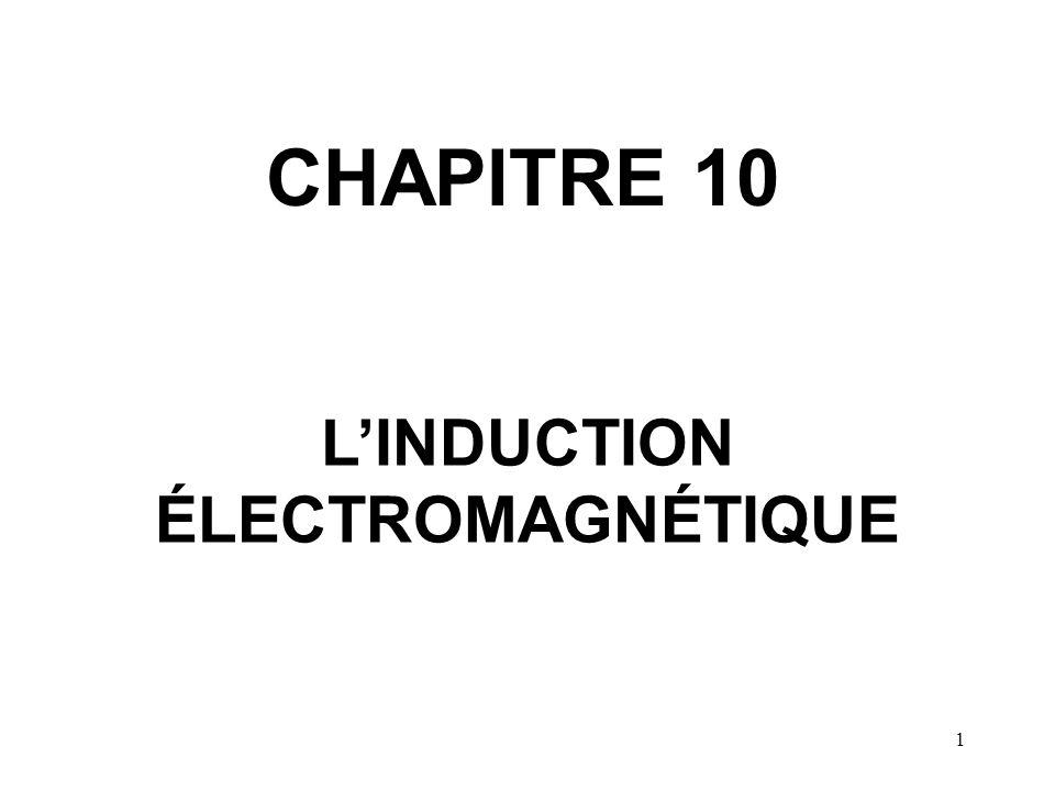 L'INDUCTION ÉLECTROMAGNÉTIQUE