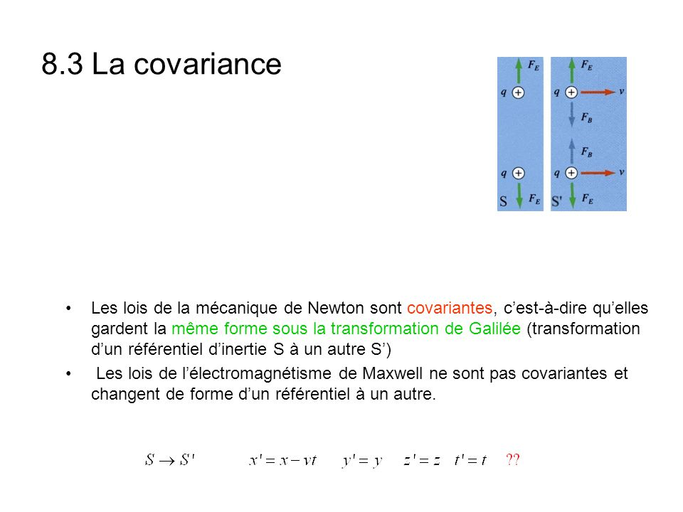 8.3 La covariance