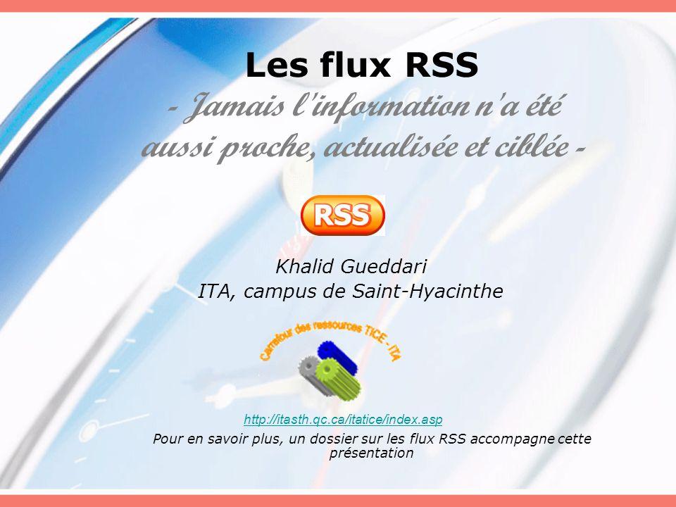 Khalid Gueddari ITA, campus de Saint-Hyacinthe