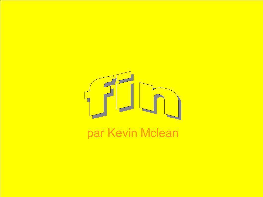fin par Kevin Mclean