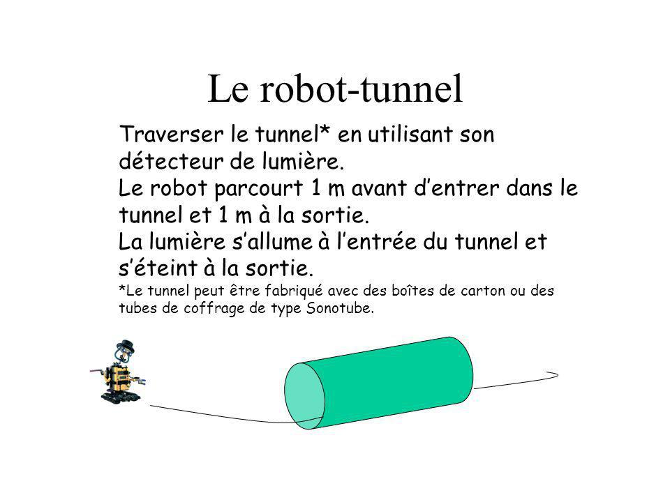 Le robot-tunnel