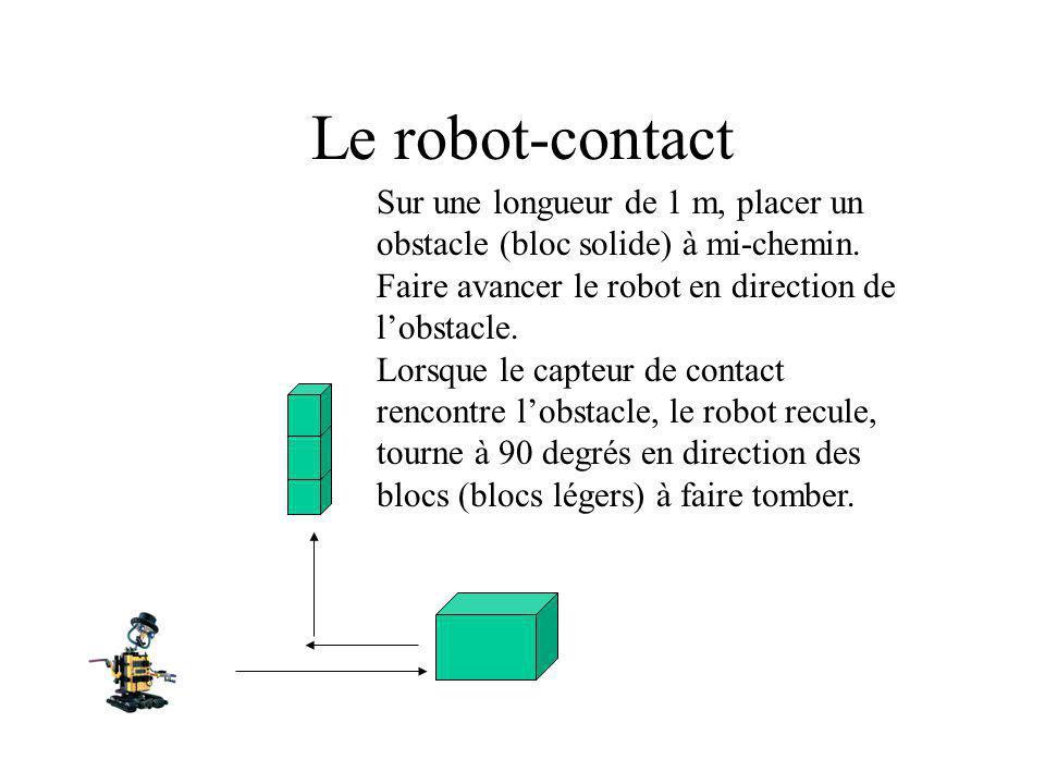 Le robot-contact