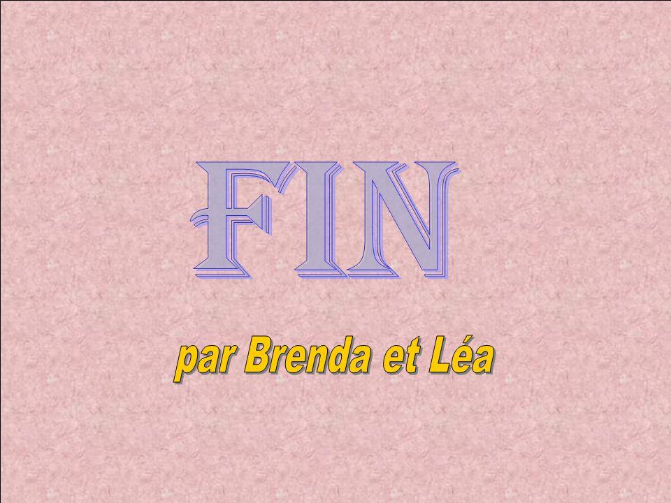 FIN par Brenda et Léa