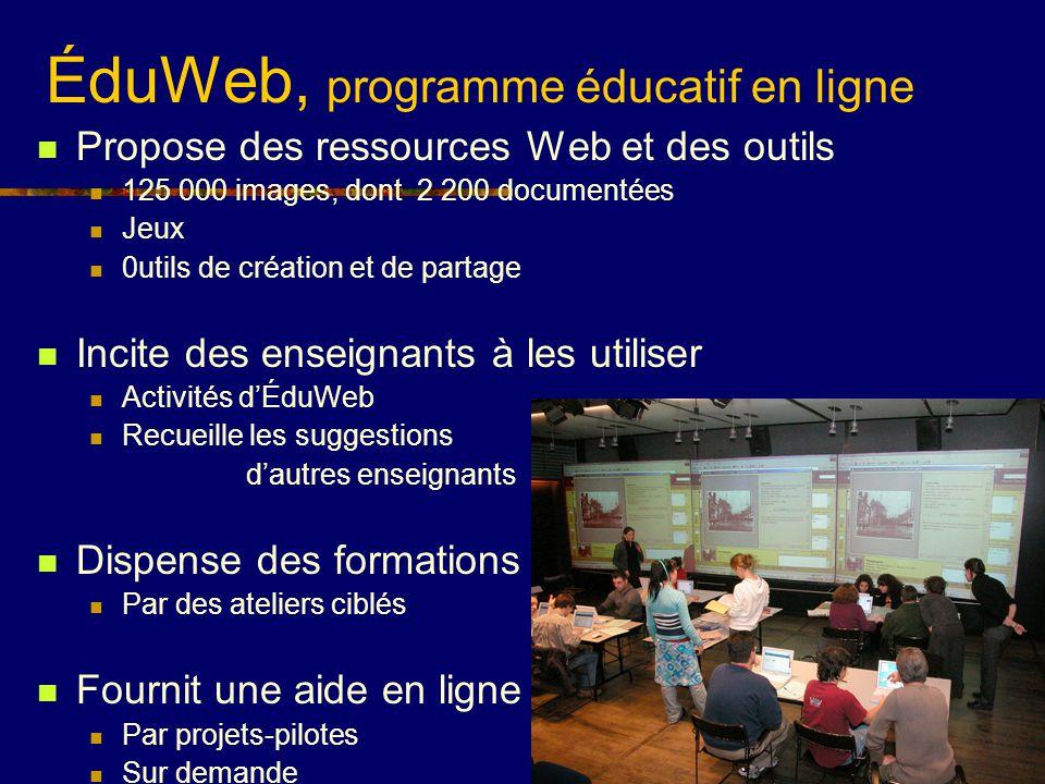 ÉduWeb, programme éducatif en ligne