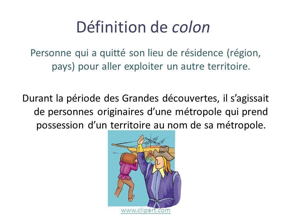 Définition de colon