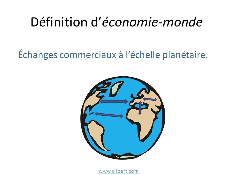 Définition d'économie-monde