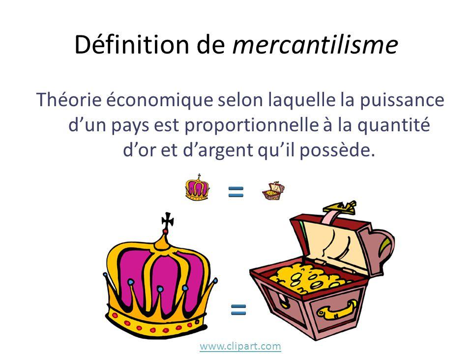 Définition de mercantilisme
