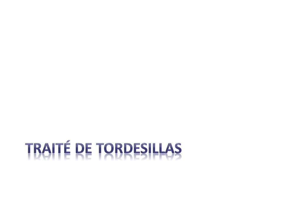 Traité de tordesillas