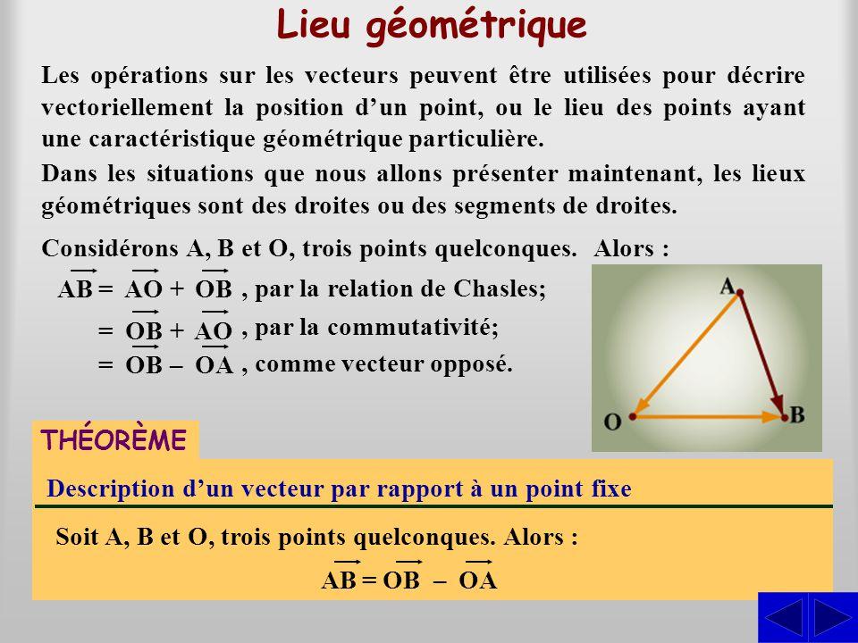 Lieu géométrique