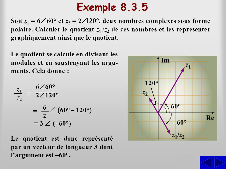 Exemple 8.3.5