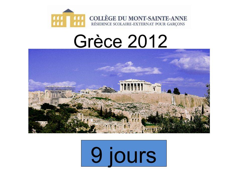 Grèce 2012 9 jours