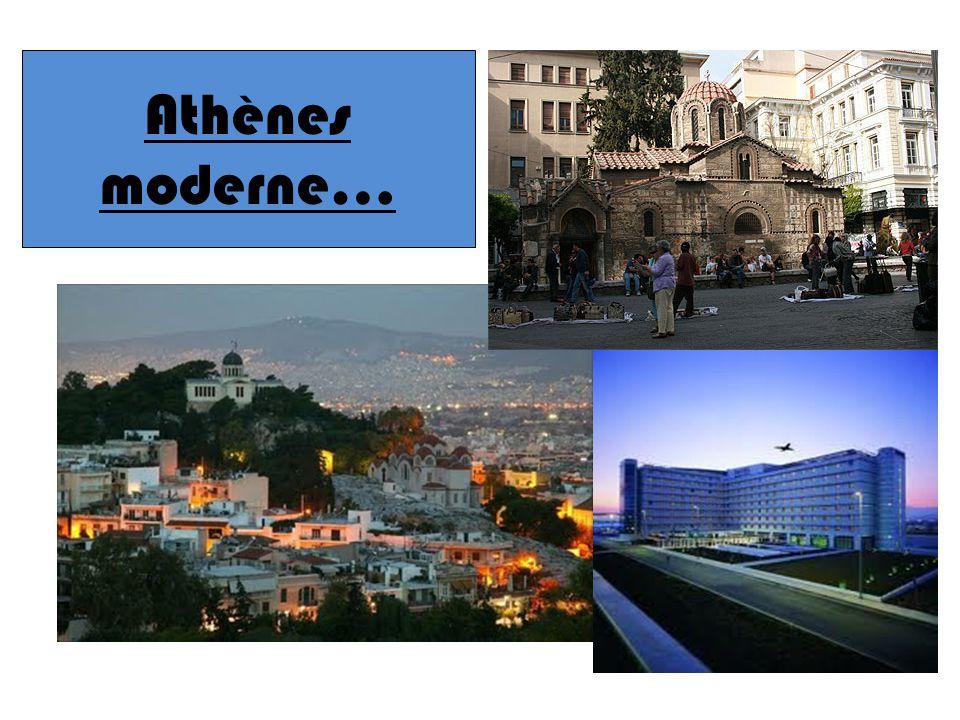 Athènes moderne…