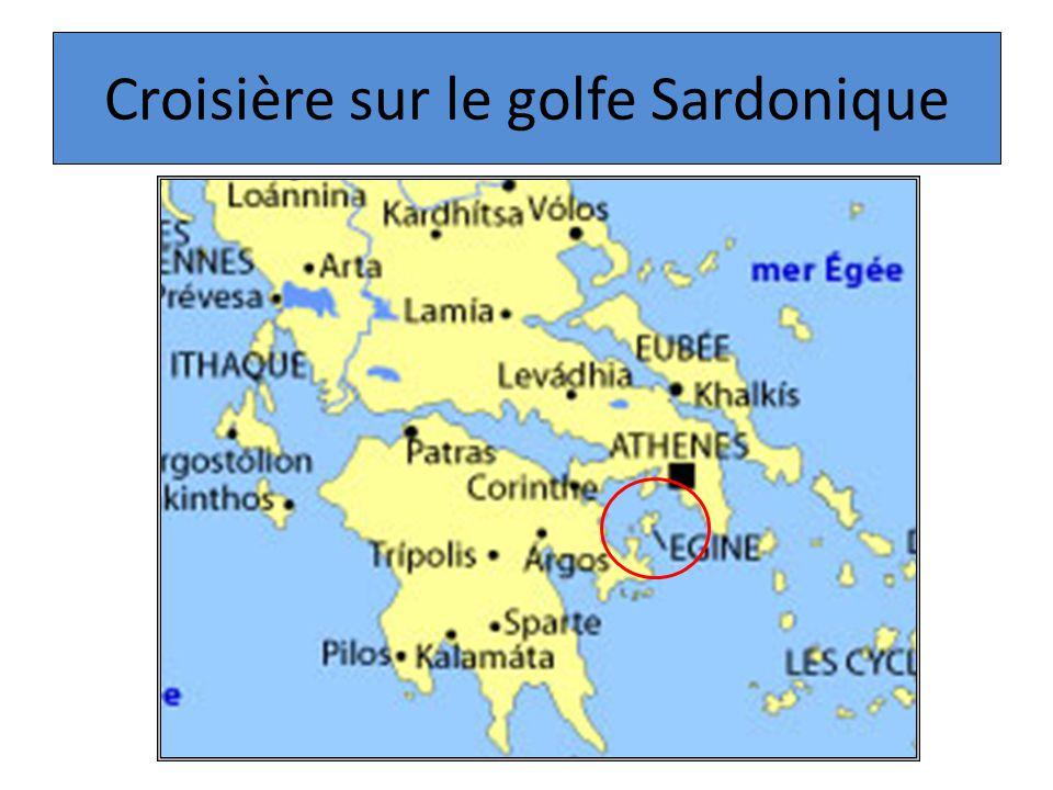 Croisière sur le golfe Sardonique