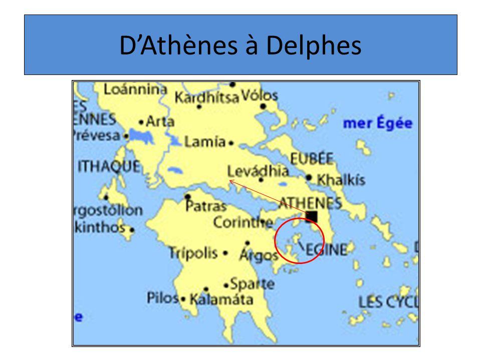 D'Athènes à Delphes