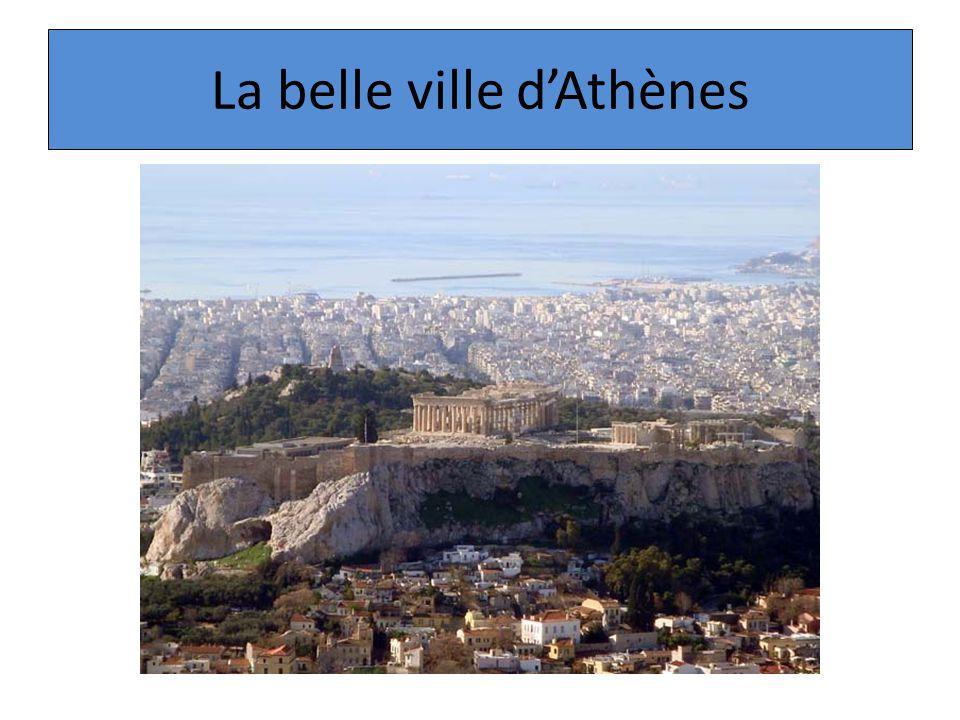 La belle ville d'Athènes