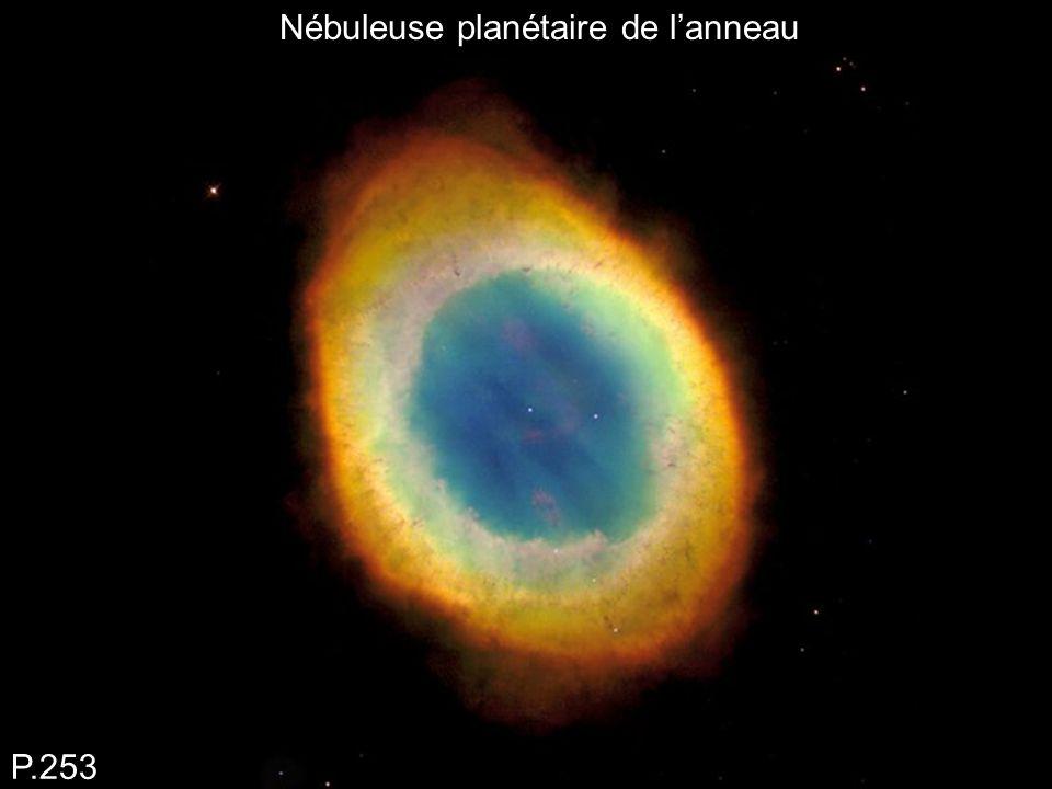Nébuleuse planétaire de l'anneau