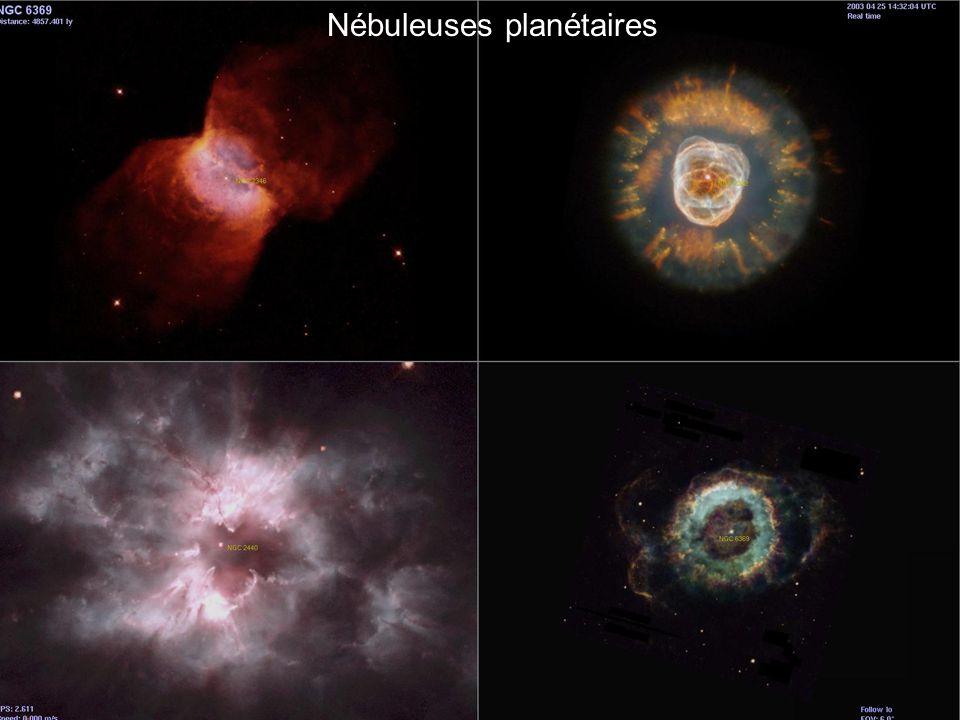 Nébuleuses planétaires
