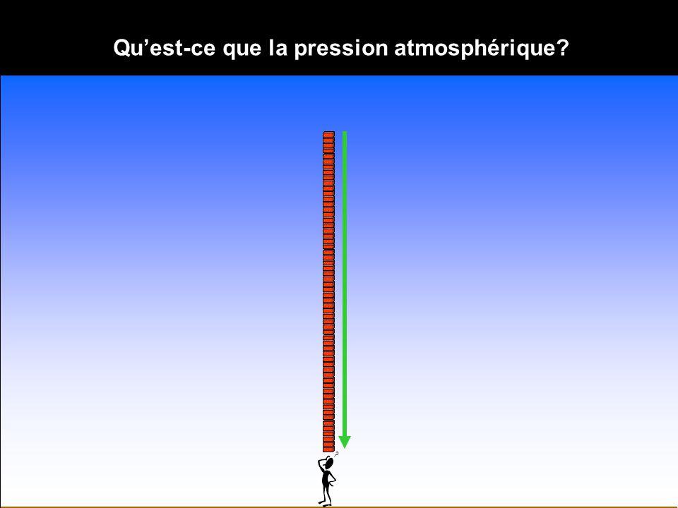 Qu'est-ce que la pression atmosphérique
