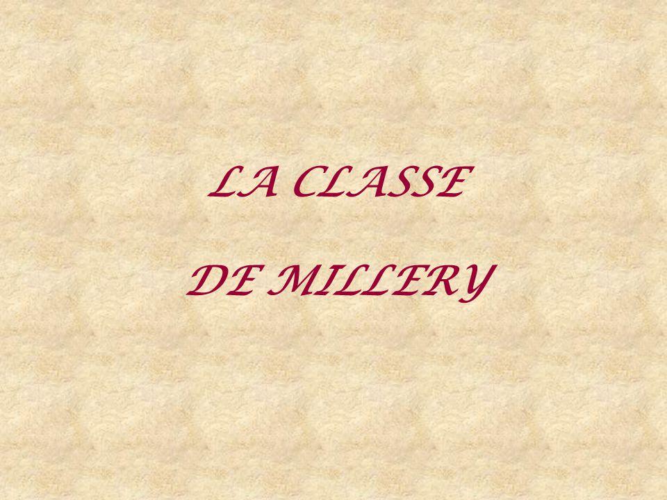 LA CLASSE DE MILLERY