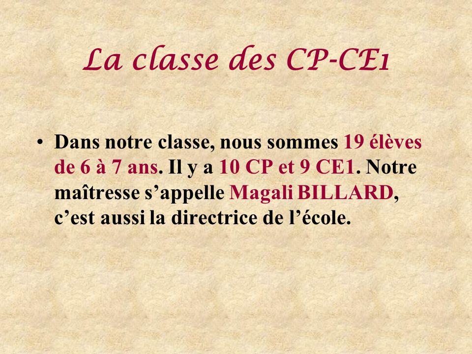 La classe des CP-CE1